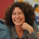 Francesca Simon at the Edinburgh Festival Photo Credit: Helen Giles