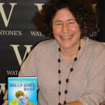 Francesca Simon at Horrid Henry book launch