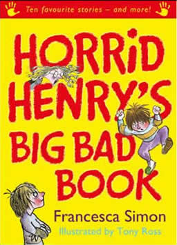 horrid henry s big bad book francesca simon