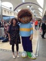 With Horrid Henry at Bluewater for the Horrid Henry 20 tour