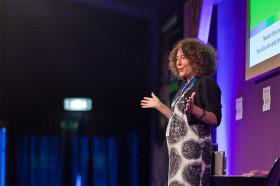 Francesca Simon at the Edinburgh Book Festival