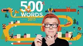 Francesca Simon judge for Chris Evans' 500 Words 2015 competition