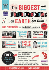 The Biggest Book Show on Earth, London event