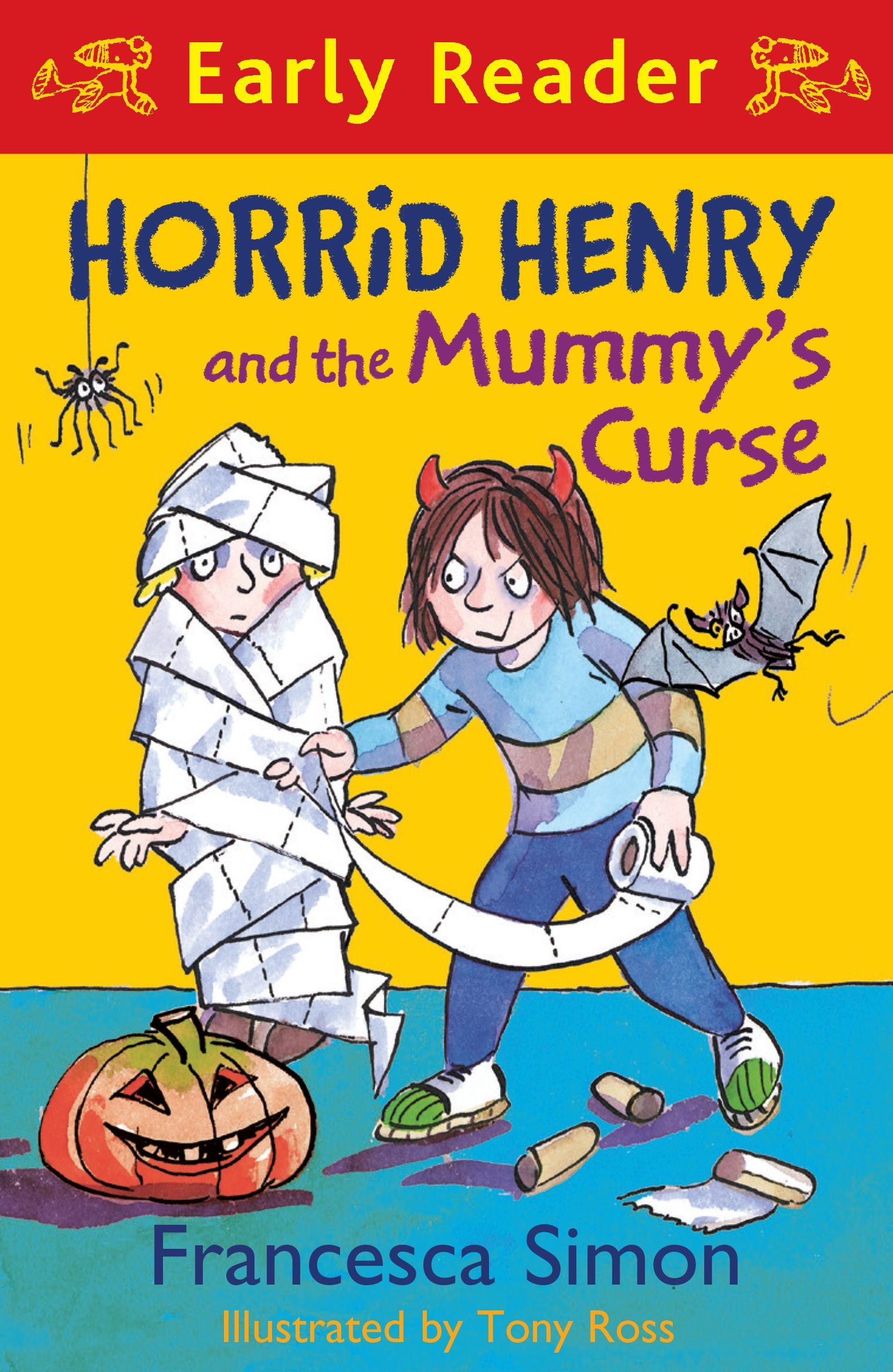 horrid henry and the mummys curse early reader