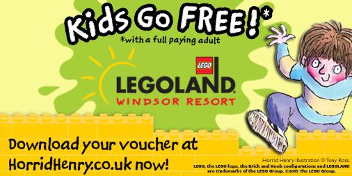 Kids go FREE!* to LEGOLAND Windsor Resort - Francesca Simon