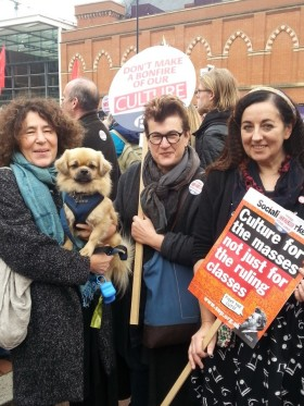 Francesca - and Louis too - join Libraries March