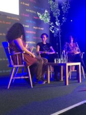 Panel event with Laure Eve, Francesca and Paedar O'Guilin