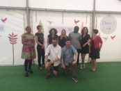 Beside the Green Room - the YA Prize shortlisted authors